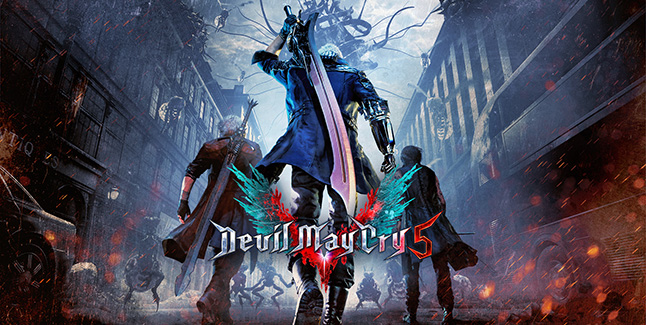 Devil May Cry 5 Banner