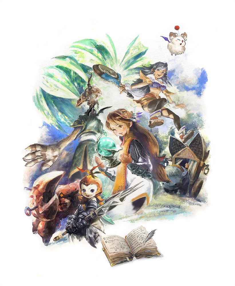 Final Fantasy Crystal Chronicles Remastered Edition Key Visual