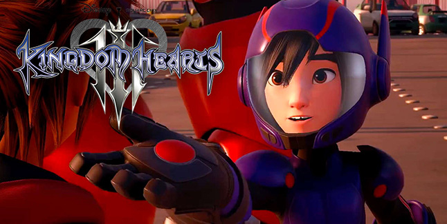 Kingdom Hearts III Big Hero 6 Banner