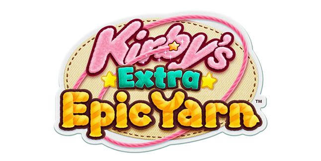 Kirbys Extra Epic Yarn Logo