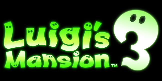 Luigis Mansion 3 Logo
