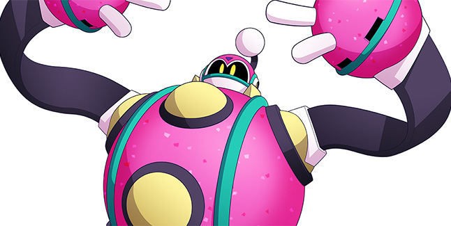 Mega Man 11 Bounce Man Banner
