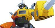 Mega Man 11 Impact Man Banner