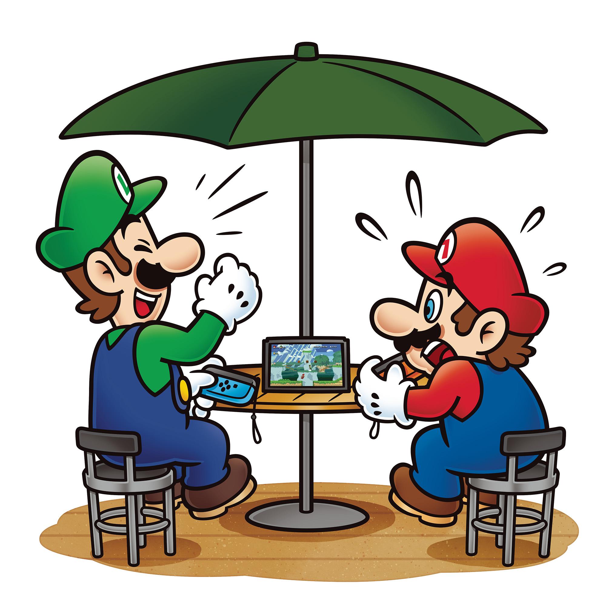 New Super Mario Bros U Artwork 2