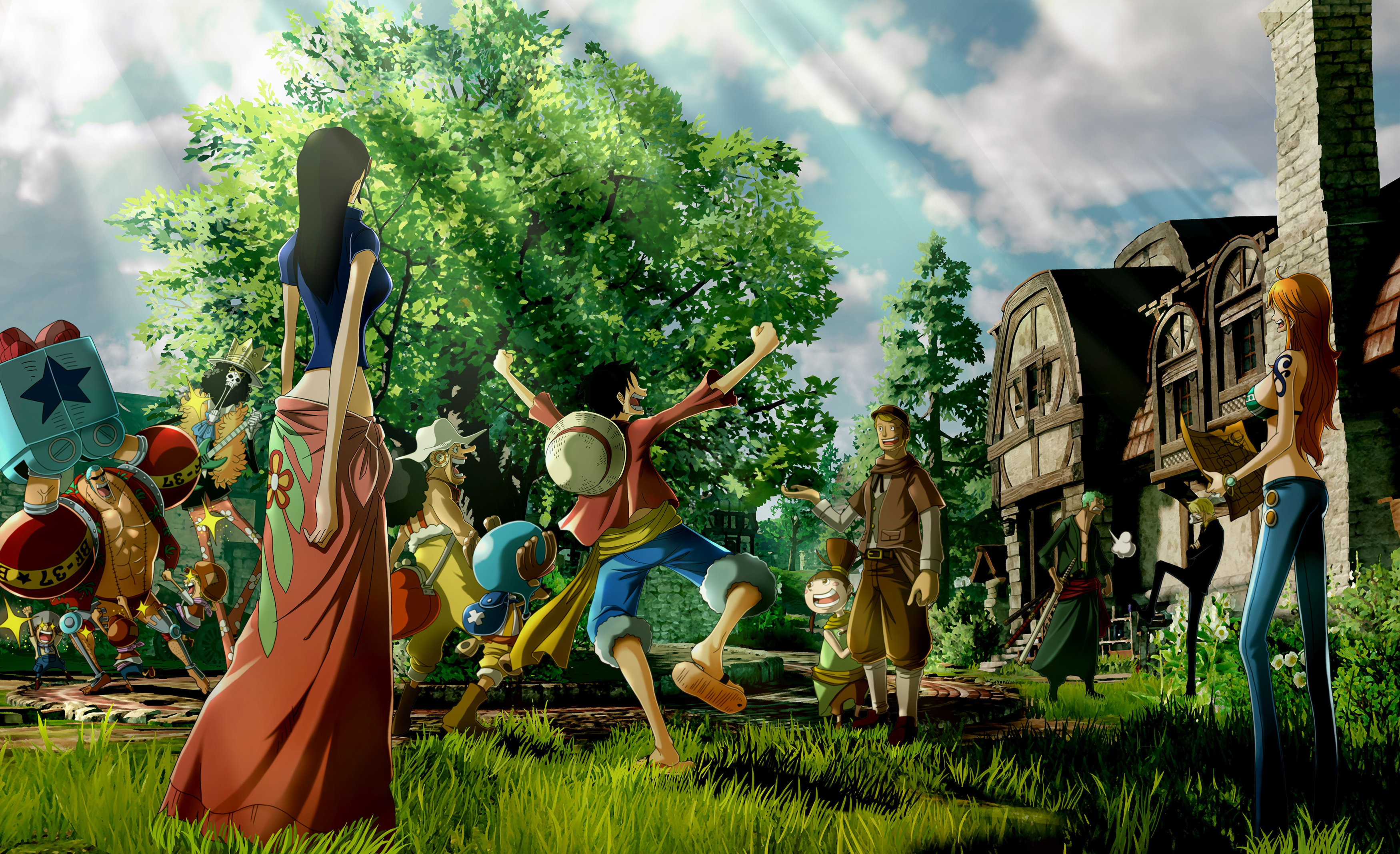 One Piece World Seeker Concept Art 2