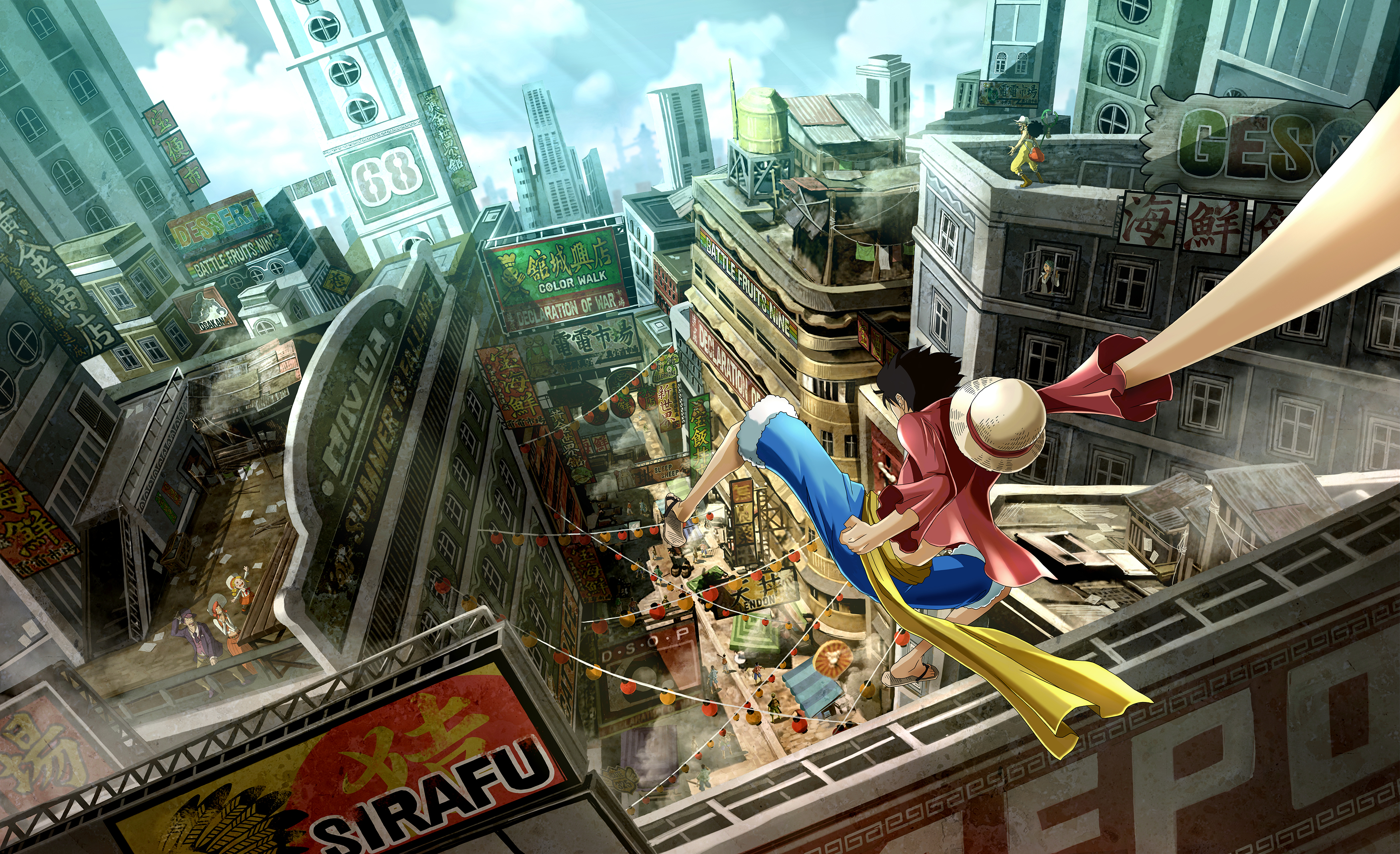 One Piece World Seeker Concept Art 4