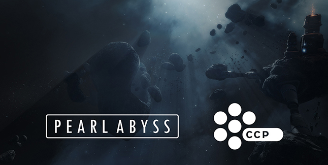 Pearl Abyss CCP Games Banner