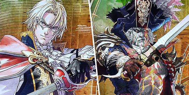 Soul Calibur VI Cervantes and Raphael Banner