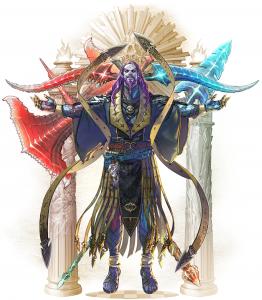 Soulcalibur VI Azwel Character Art
