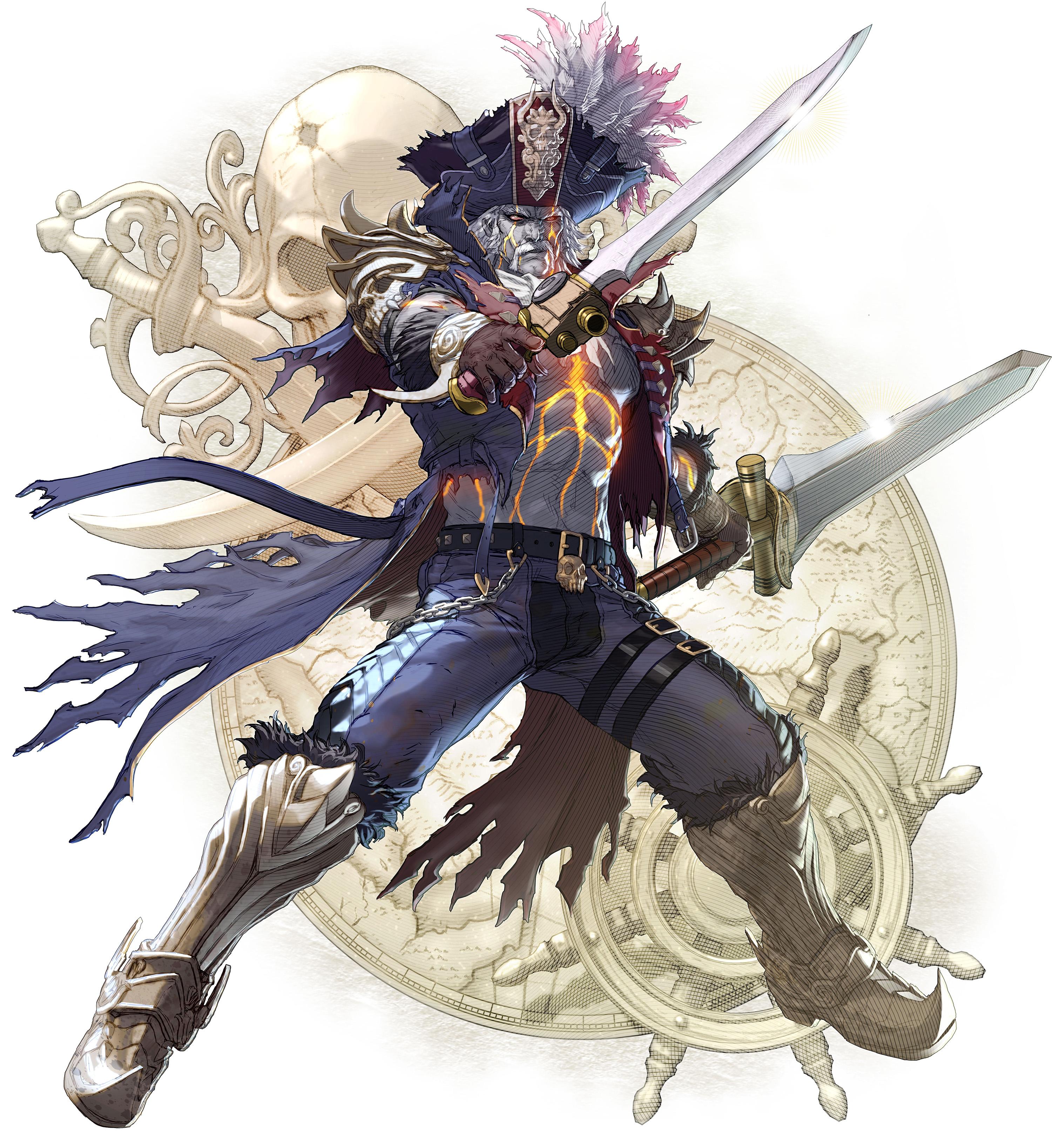 Soulcalibur VI Cervantes Character Artwork