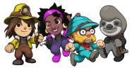 Spelunky 2 Character Art Banner