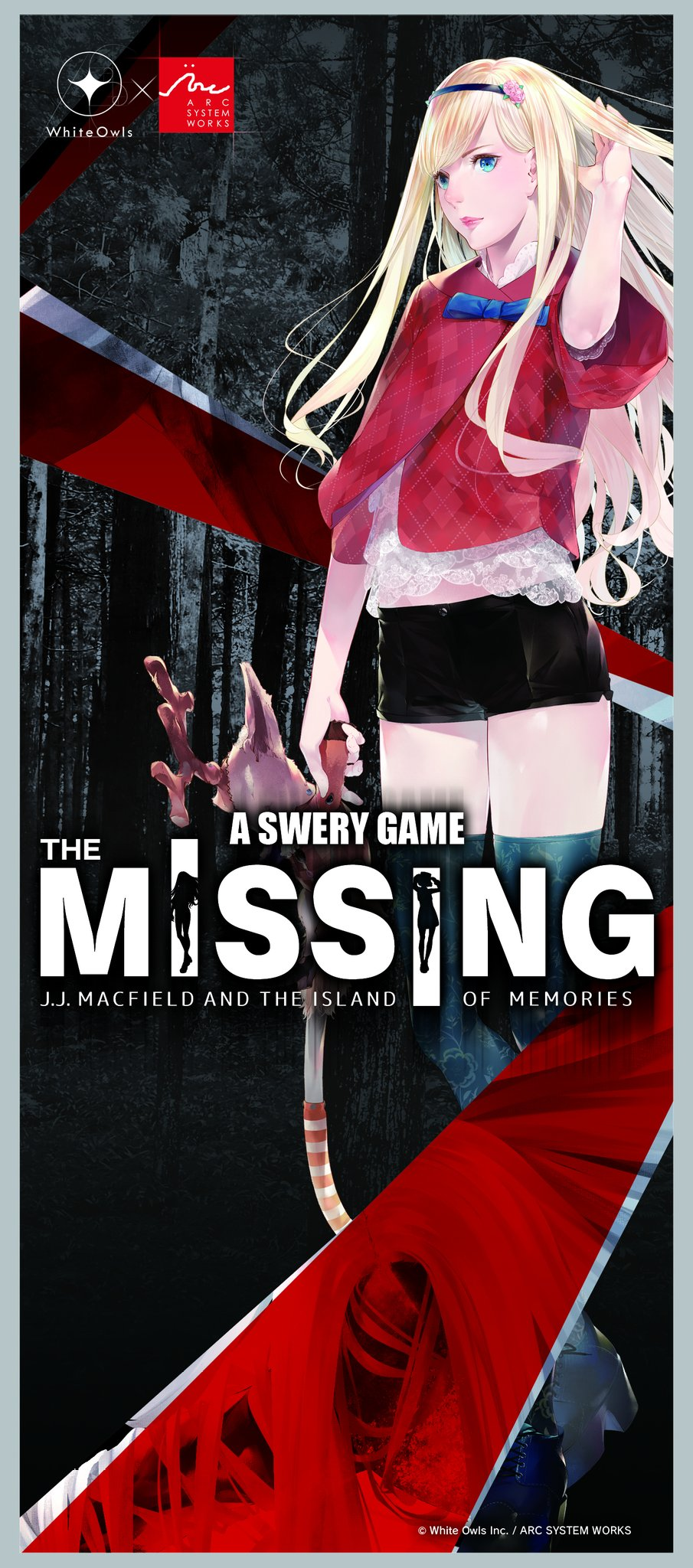 The Missing J.J. Macfield and the Island of Memories Key Visual