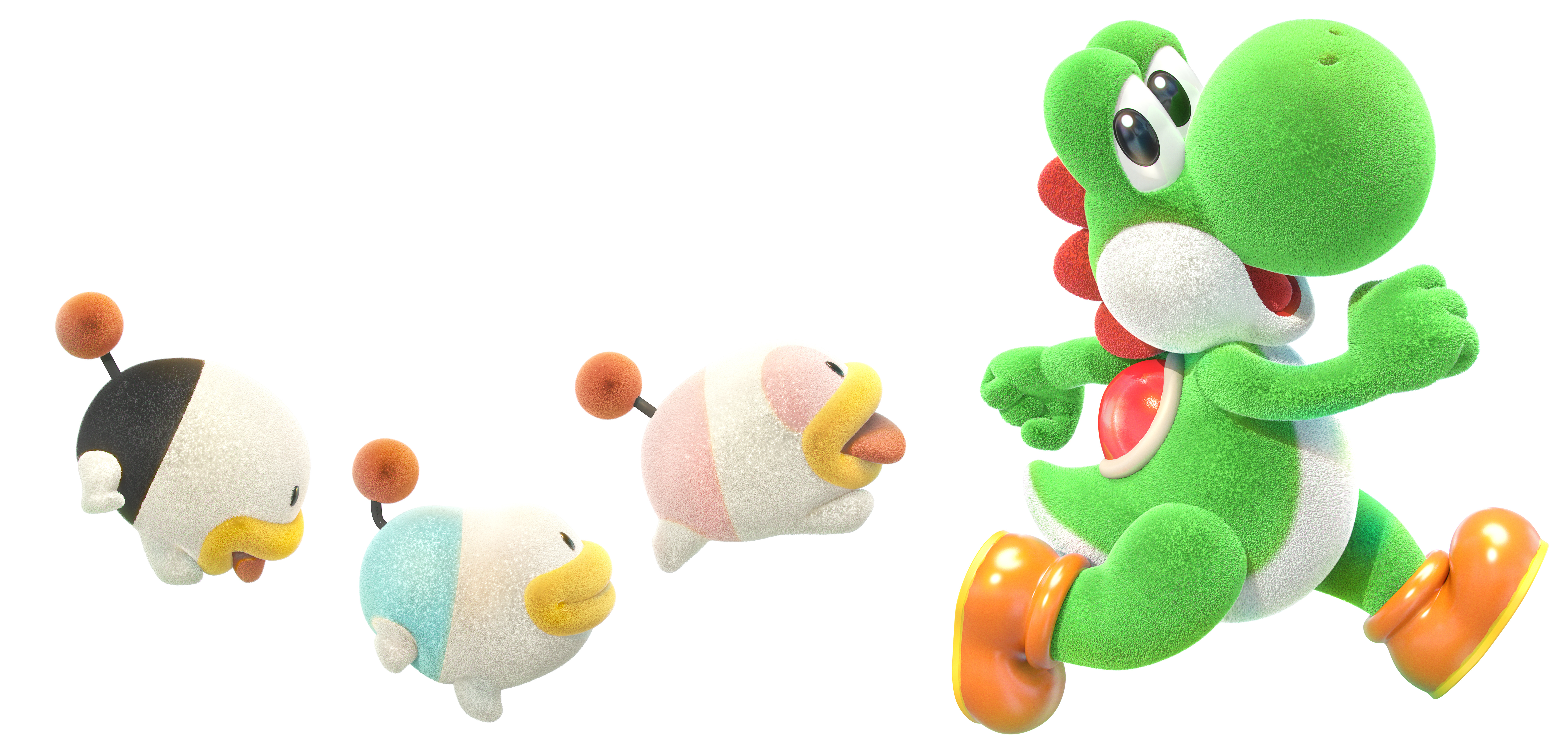 Yoshi's Crafted World Render 5