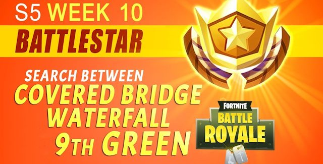 Fortnite Season 5 Week 10 Challenges: Battle Star Treasure Map & Jigsaw Puzzle Pieces Locations Guide