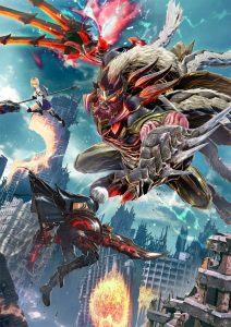 God Eater 3 Box Art Illustration