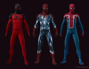 Marvels Spider-Man The Heist Suits