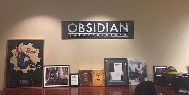 Obsidian Entertainment Banner