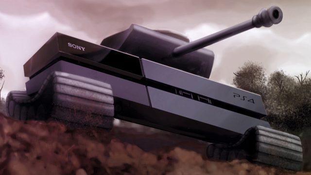 PS4 Tank