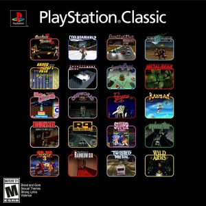 PlayStation Classic Lineup
