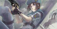 Resident Evil Jill Valentine Art Banner
