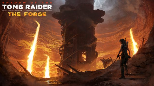 Shadow of the Tomb Raider DLC The Forge Key Art