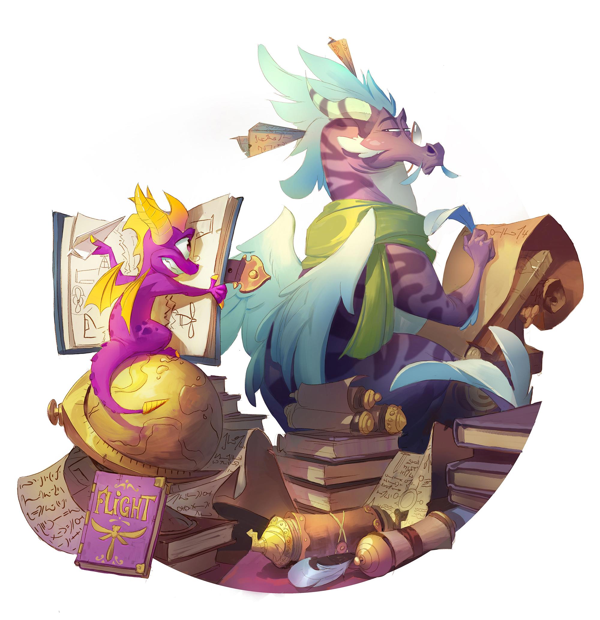 Spyro Reignited Trilogy Concept Art 1