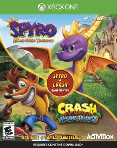 Spyro Reignited Trilogy + Crash Bandicoot N. Sane Trilogy Bundle - Xbox One Boxart