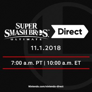 Super Smash Bros Ultimate Direct US