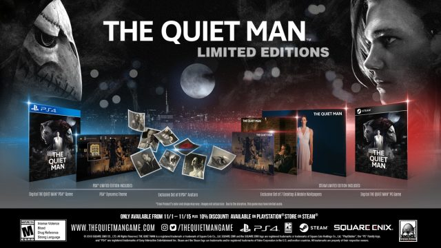 The Quiet Man Limited Editions
