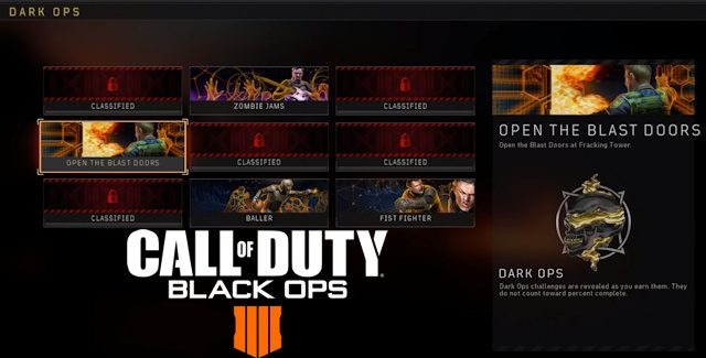 Call of Duty: Black Ops 4 Blackout Dark Ops Challenges Guide