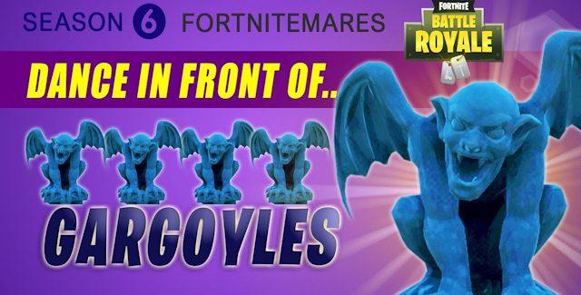 Fortnite Gargoyles Locations Guide