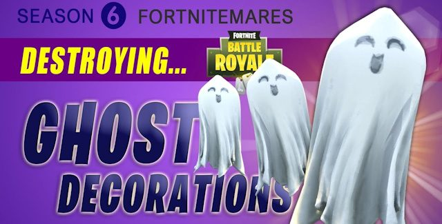 Fortnite Ghost Decorations Locations Guide