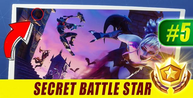 Fortnite Season 6 Week 5 Challenges: Battle Star Treasure Map, Flaming Hoops & Radar Signs Locations Guide