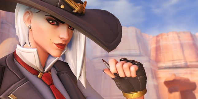 Ashe Overwatch Screen 1