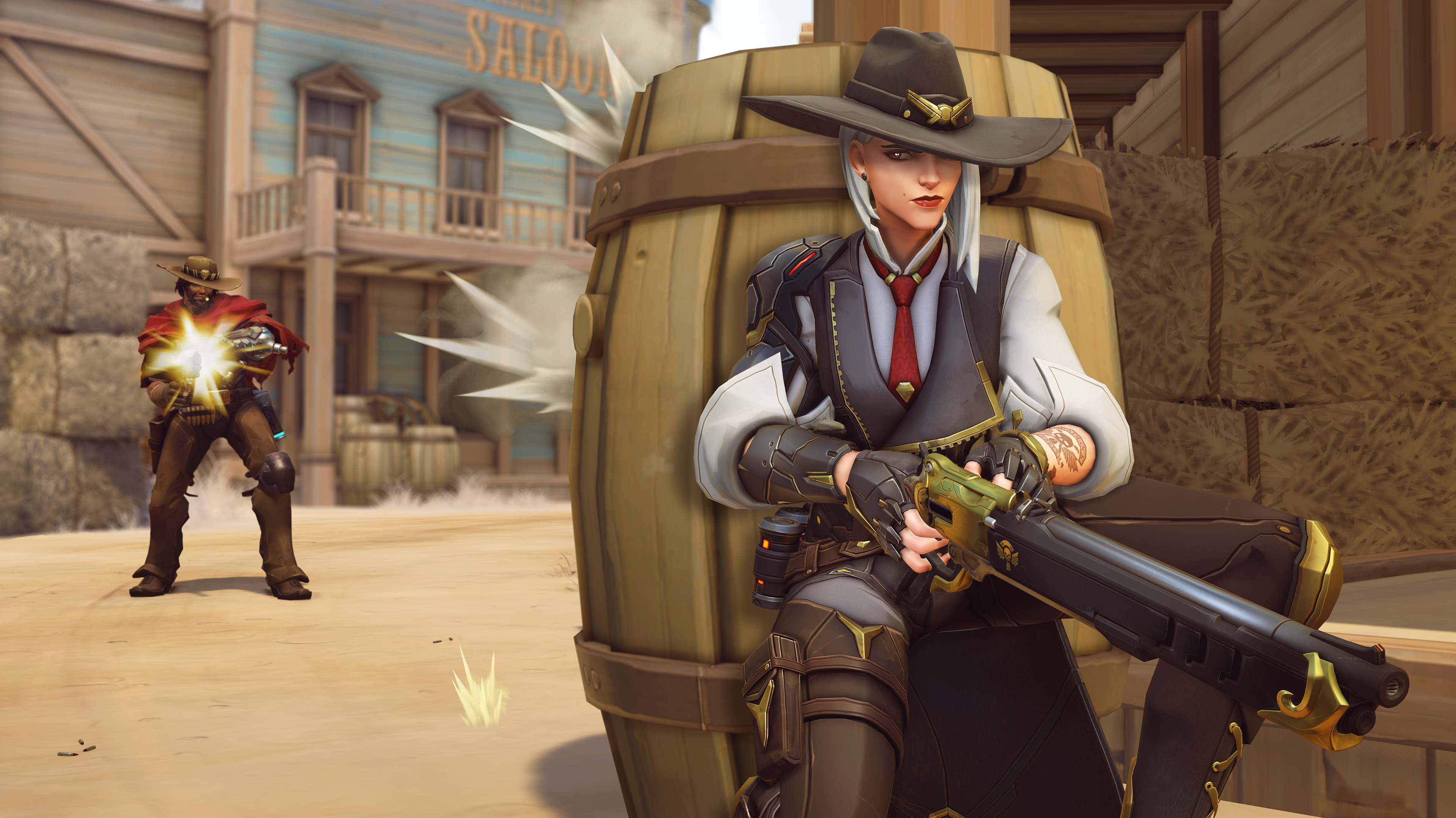 Ashe Overwatch Screen 2