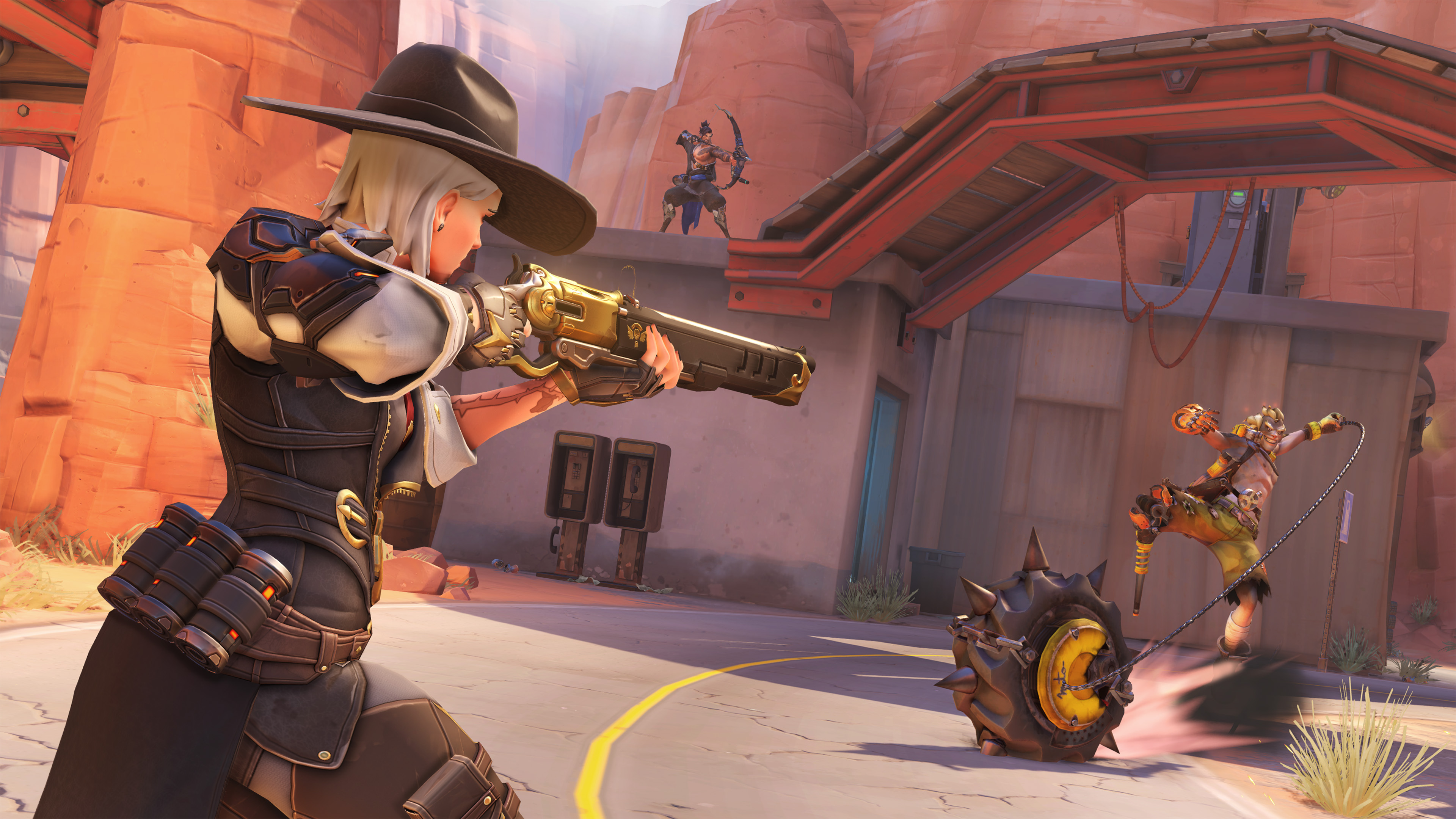 Ashe Overwatch Screen 4