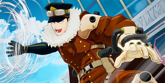 My Hero One's Justice Inasa Yoarashi Banner