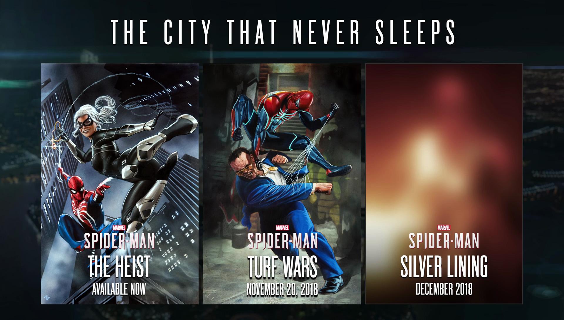 Spider-Man DLC Banner