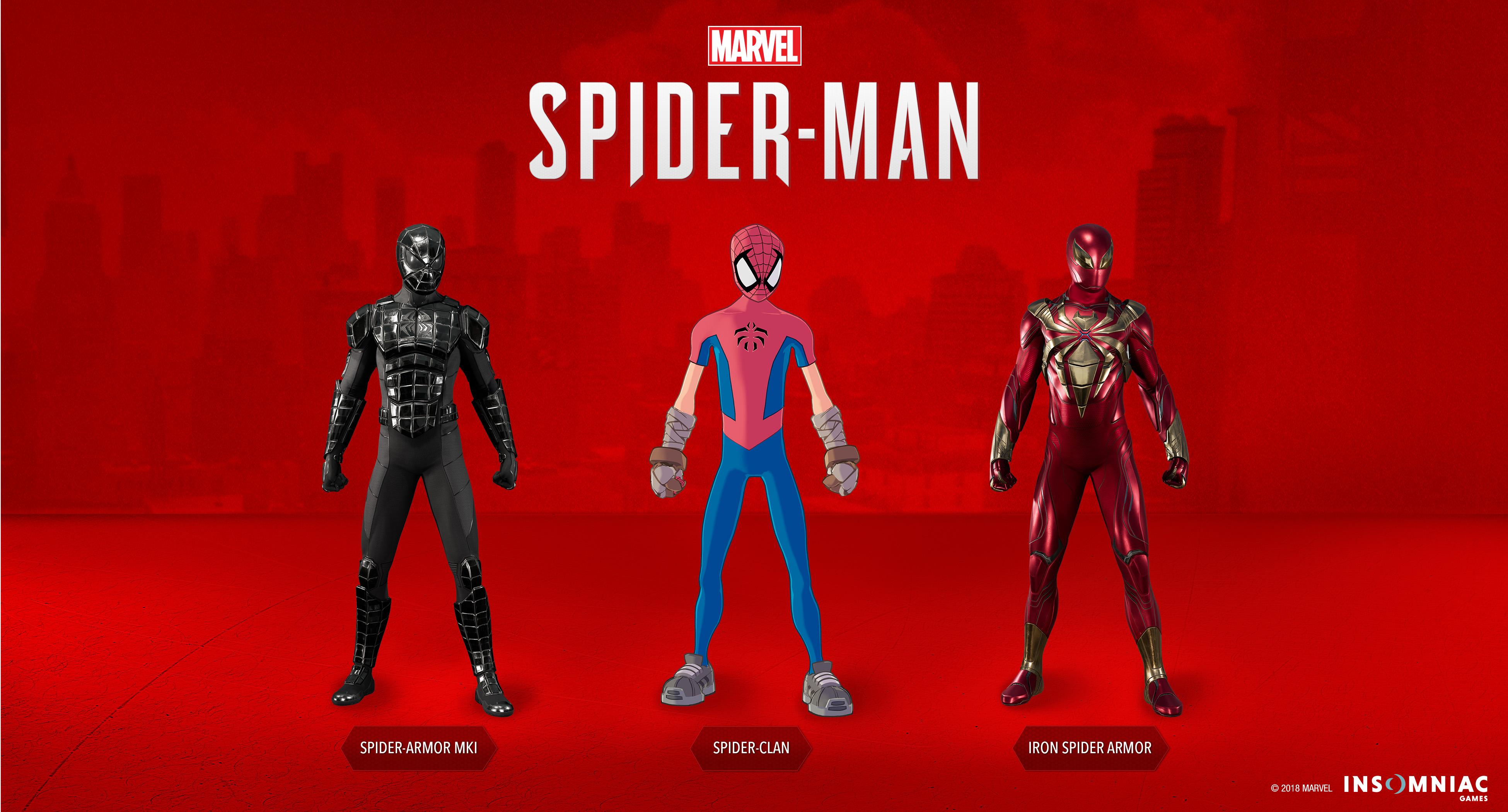 Spider-Man Turf Wars Suits