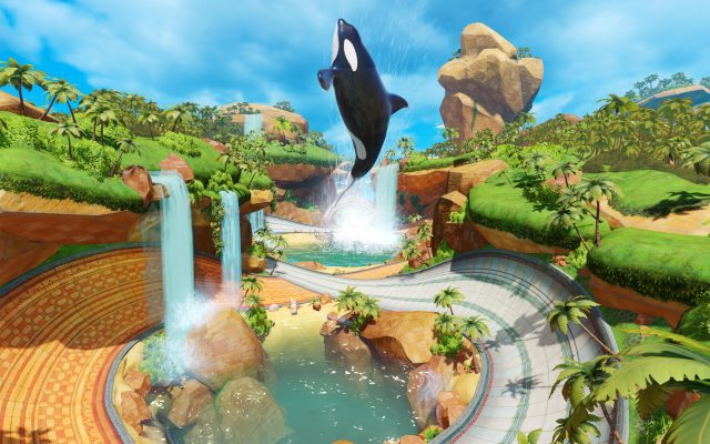 Team Sonic Racing Whale Lagoon Map