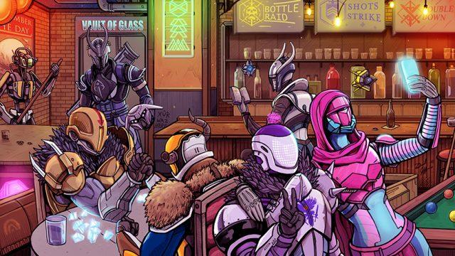 The Vault of Glass Bar - Destiny 2