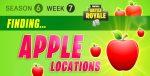 Fortnite Season 6 Week 7 Challenges: Battle Star Treasure Map, Apples Locations Guide