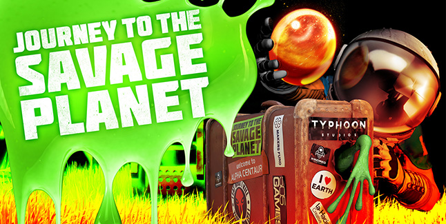 Journey to the Savage Planet Banner
