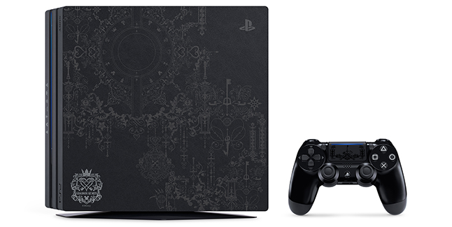 Limited Edition Kingdom Hearts III PS4 Pro Bundle Banner