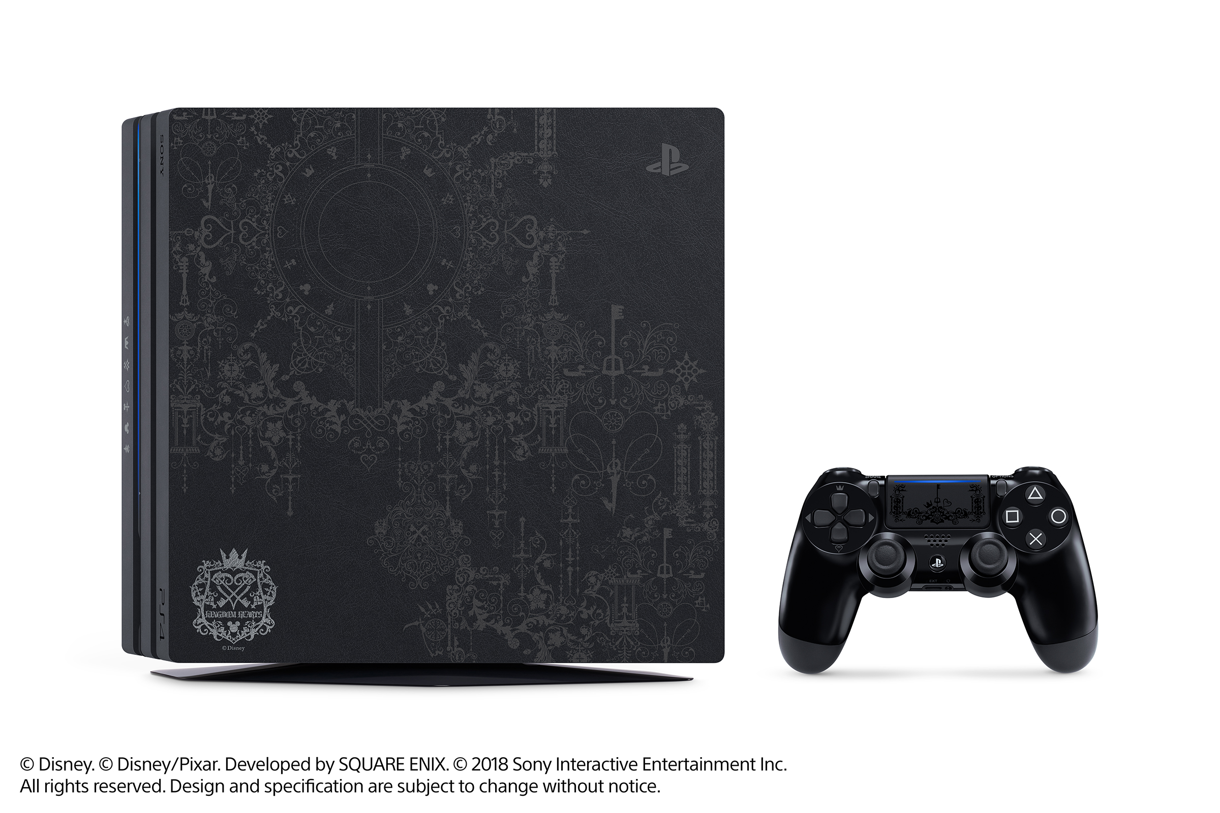 Limited Edition Kingdom Hearts III PS4 Pro Bundle Image 1