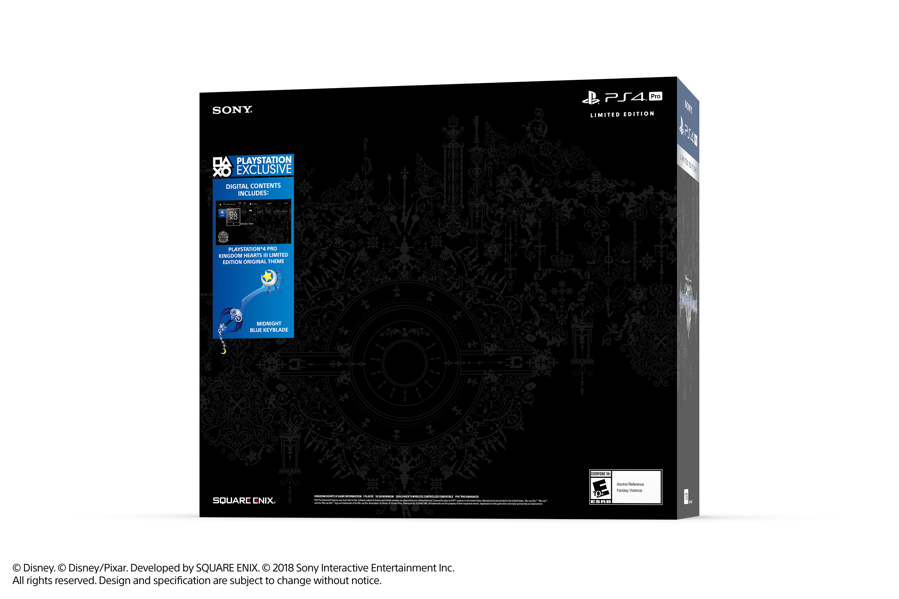 Limited Edition Kingdom Hearts III PS4 Pro Bundle Image 5