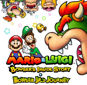 Mario & Luigi Bowser's Inside Story + Bowser Jr.'s Journey Key Visual