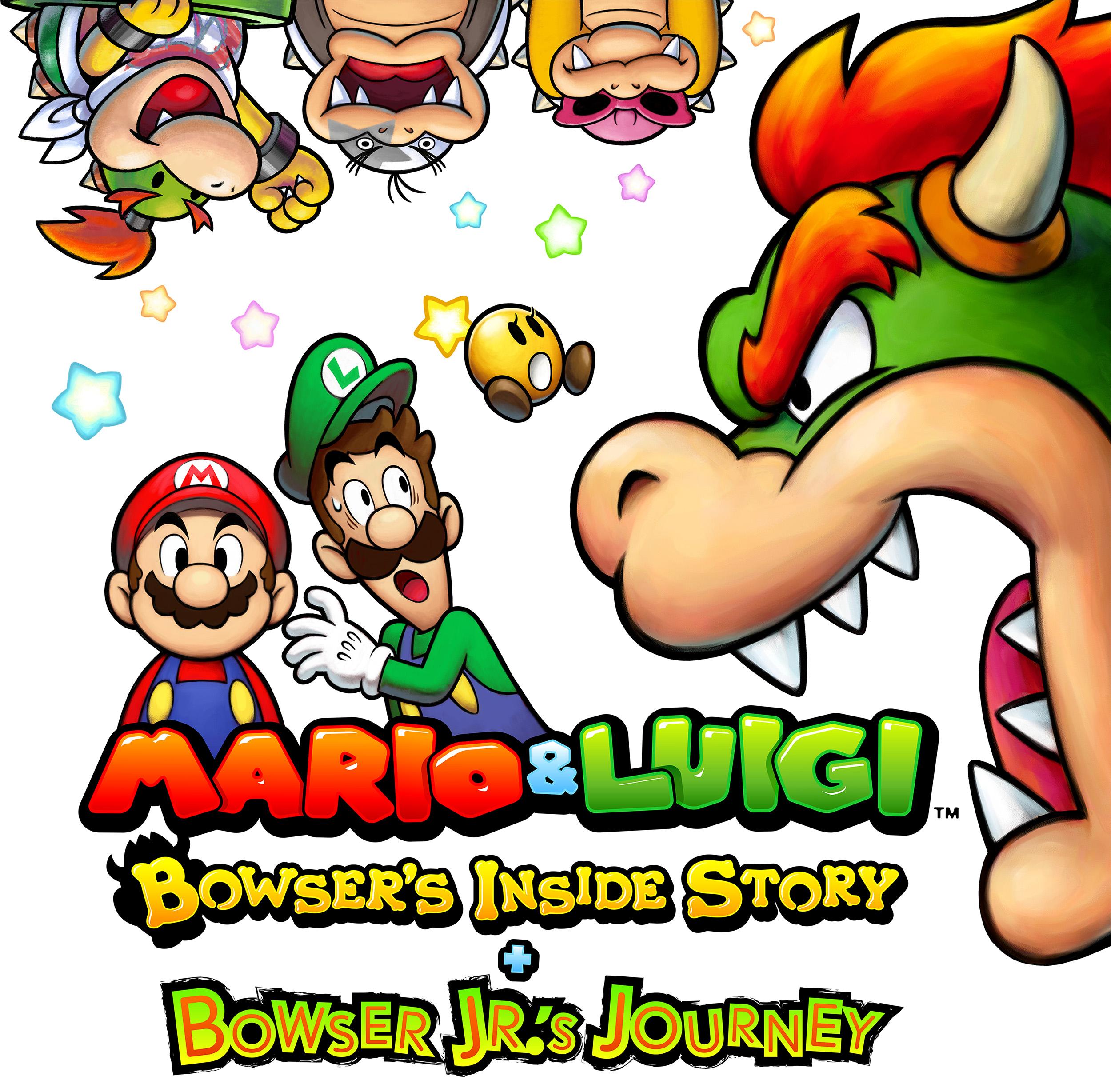 Mario & Luigi Bowser's Inside Story + Bowser Jr.'s Journey Key Visual