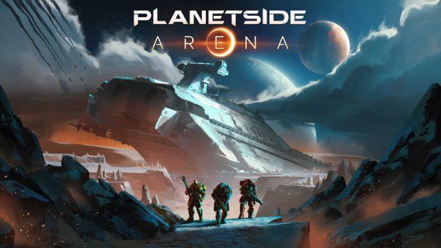 PlanetSide Arena Key Art