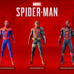Spider Man PS4 DLC 3 Suits